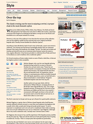 Financial Times – Over The Top