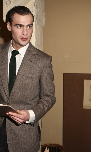 London Collections Men, Savile Row Presentation at the Churchill Warrooms January 2014