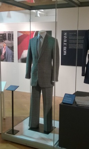 Kathryn Sargent Bespoke Garments on Disply at 'Tailored: A Very British Fashion' at the Leeds City Museum July 2015 until January 2016