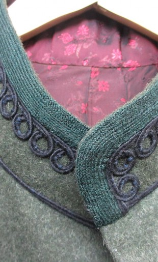 Braided Collar Detail