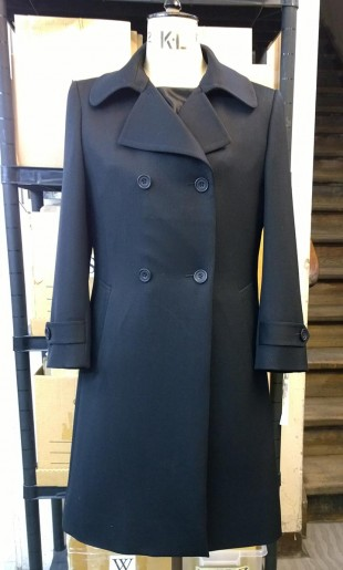 Ladies Double Breasted Coat