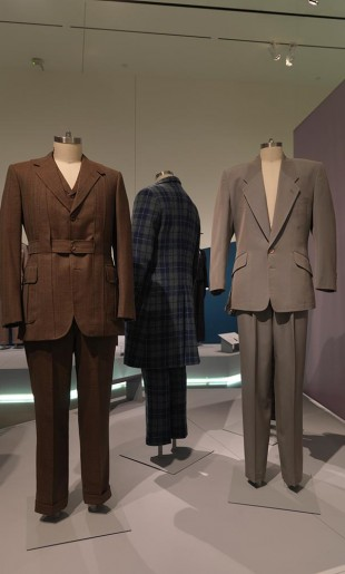 Norfolk suit on display at the exhibition Artist Rebel Dandy: Men Of Fashion. Courtesy of the RISD Museum