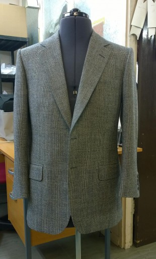 Prince of Wales Check Suit Jacket